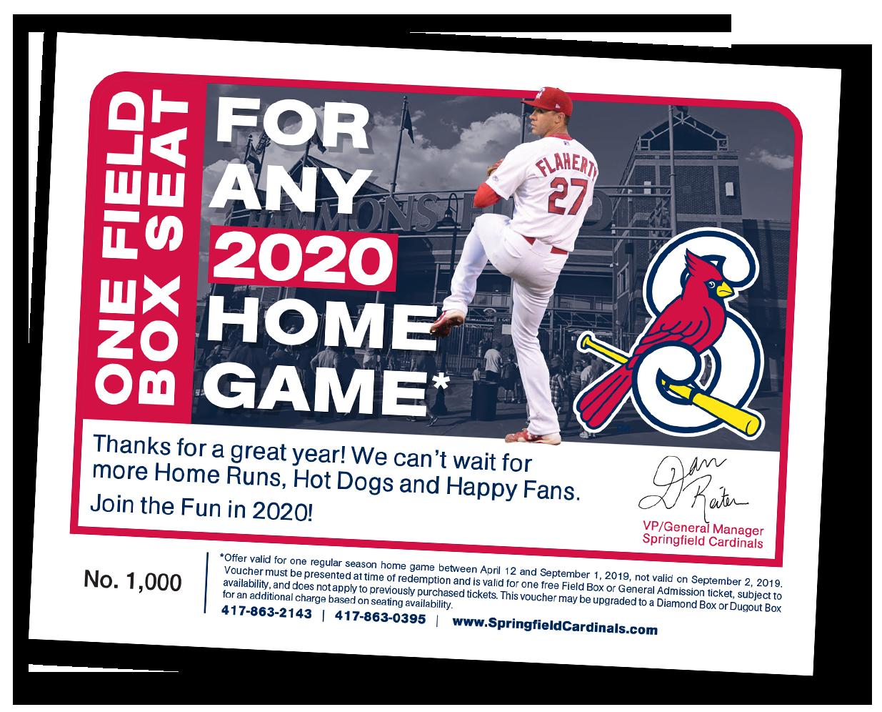 Springfield Cardinals Promotions | Cardinals