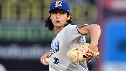 Brent Honeywell led the International League with a 29.1 percent strikeout rate in 2017.