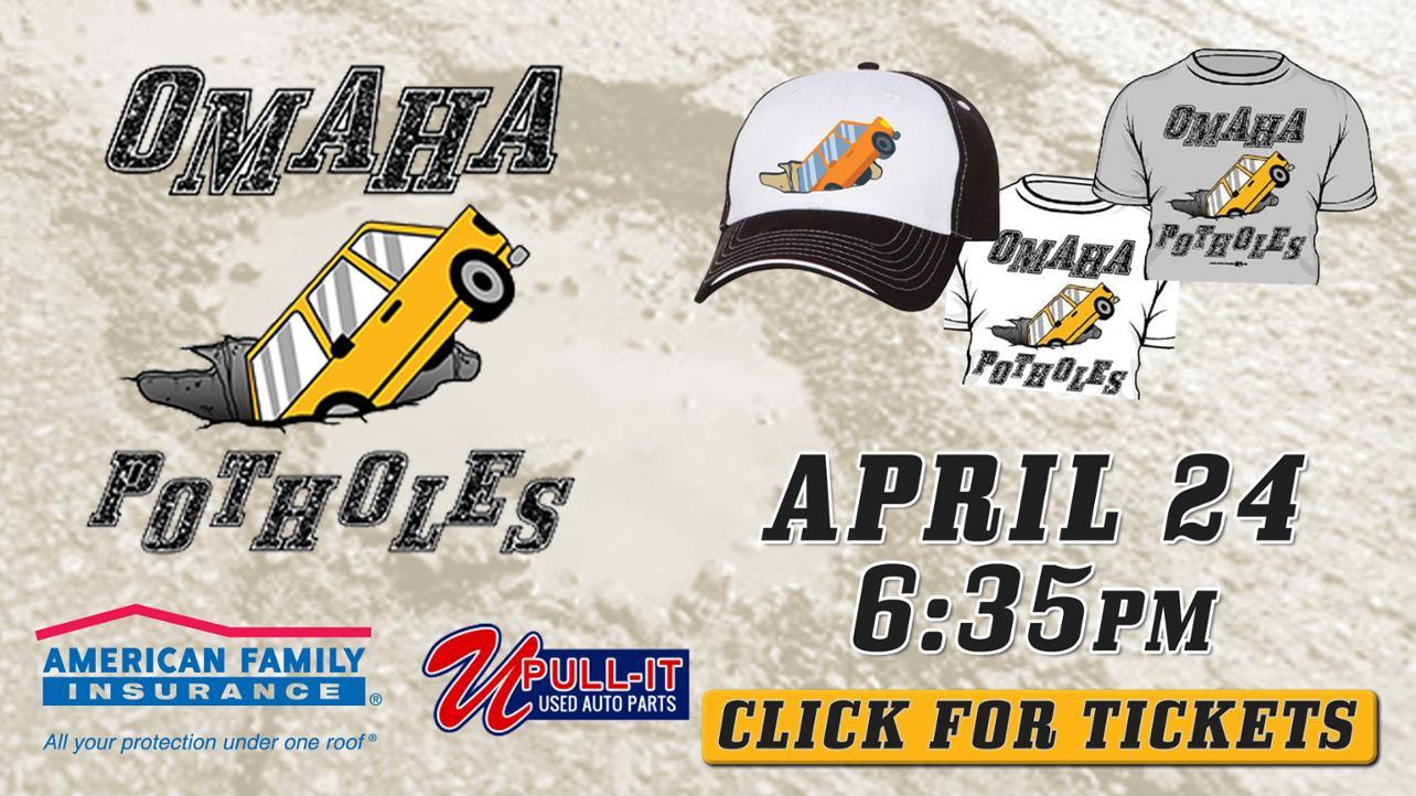 Omaha Potholes April 24 MW