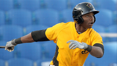 Gregory Polanco has six homers in 41 Florida State League games.