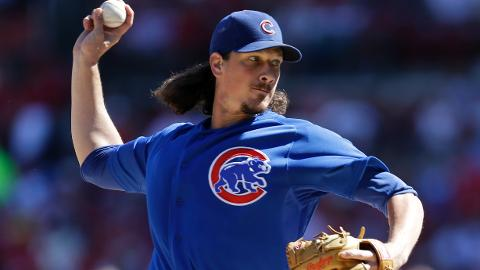 Jeff Samardzija surpassed 200 Major League innings for the first time in 2013.