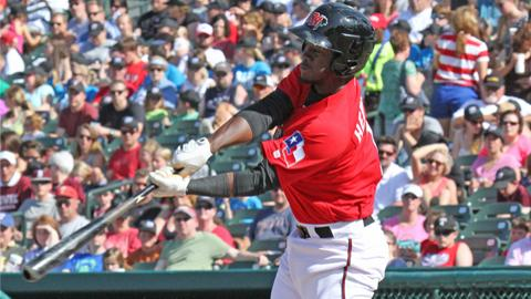 Second baseman Odubel Herrera went 5-for-5 with three runs scored and a run knocked in Frisco's win.