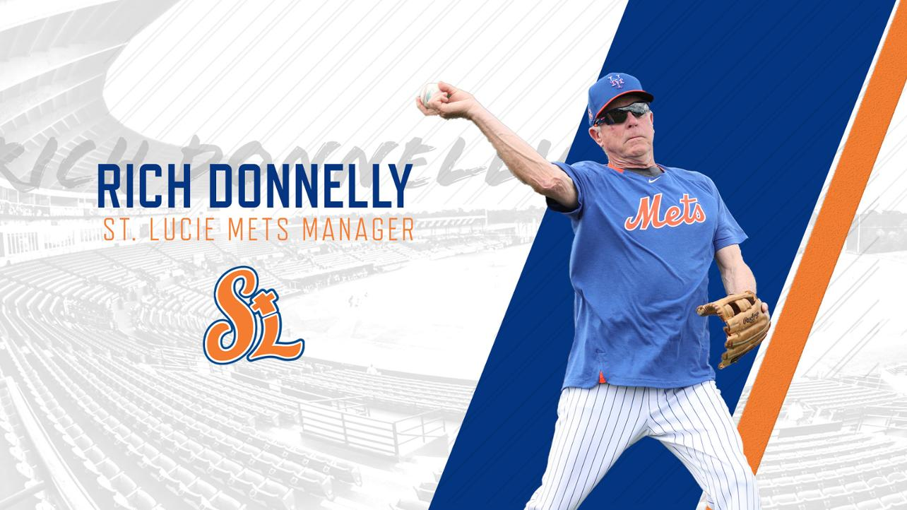 Rich Donnelly named St. Lucie Mets manager