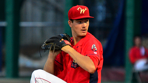 Drew Anderson threw five shutout innings of 2-hit ball in the Cutters 5-3 extra inning loss Tuesday.