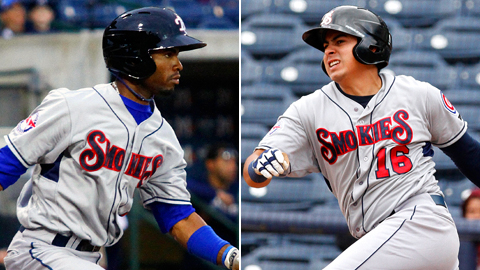 Teammates Arismendy Alcantara and Christian Villanueva are Double-A All-Stars.