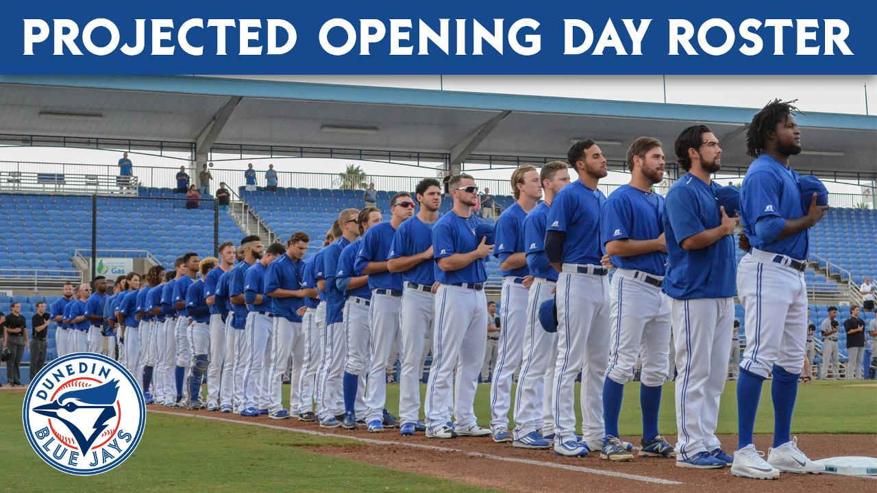 Mlb projected opening day rosters