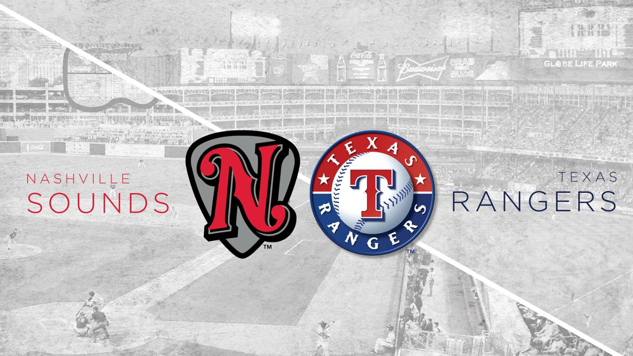 Sounds and Texas Rangers Announce Four-Year Player Development Contract