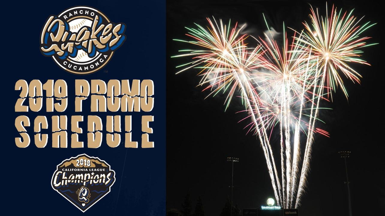 2019 Promotional Schedule Announced!