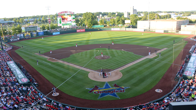 Hammons Field wins fourth straight Double-A Field of the
