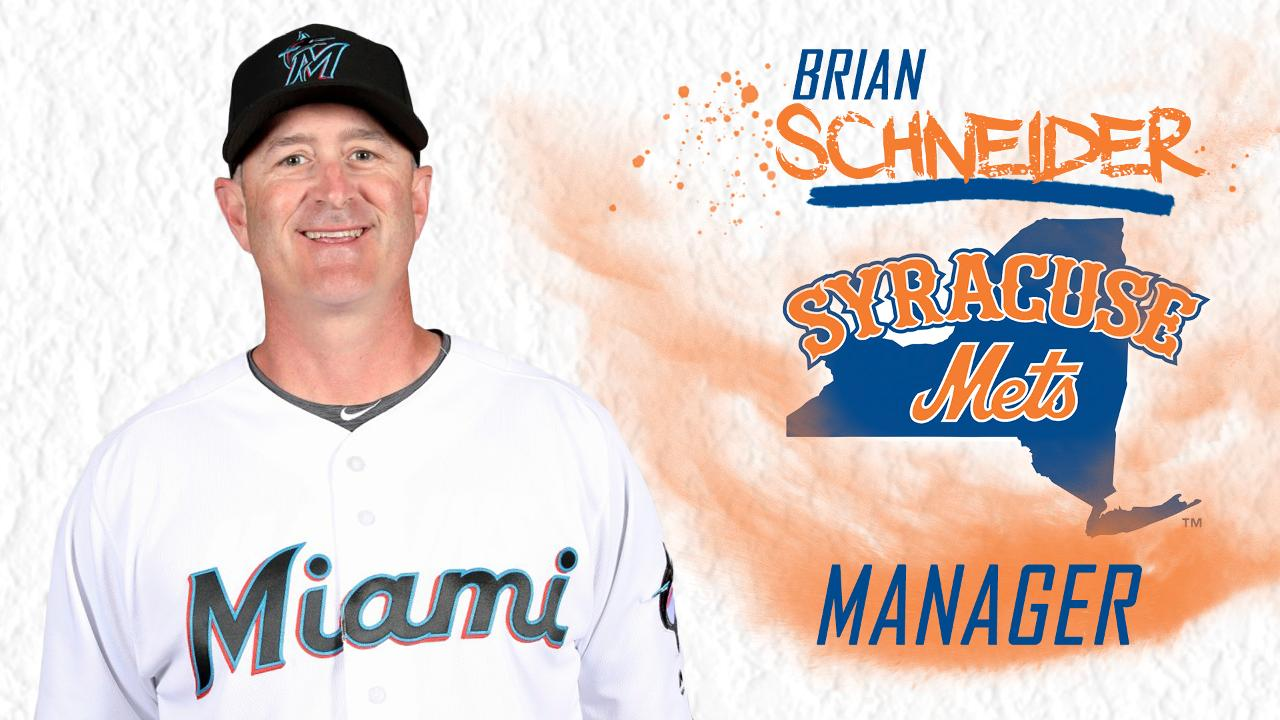Syracuse Mets Announce Brian Schneider as Manager for 2020 Season