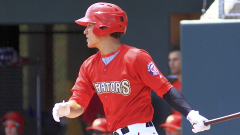 Nationals prospect Zach Walters hit .266 across three levels last season.