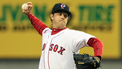 Knuckleballer Steven Wright tossed 16 scoreless innings last week.
