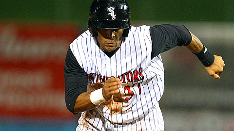 Micah Johnson led the Minor Leagues with 84 stolen bases in 2013.