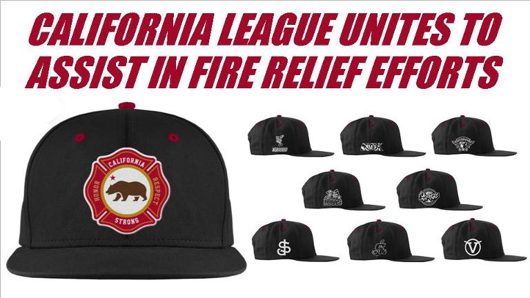 Limited-edition caps aid wildfire relief