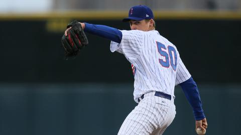 Barret Loux comes off the disabled list and will start today for the Cubs in Colorado Springs.