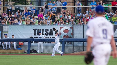 Midland spoiled Roy Oswalt's Tulsa debut Friday, not to mention the home team's bid for series sweep, as the RockHounds defeated the Drillers 3-2 at ONEOK Field.
