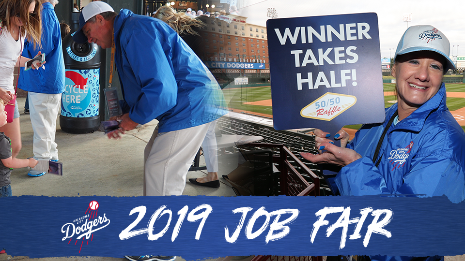 OKC Dodgers Hosting Annual Job Fair February 21 & 23