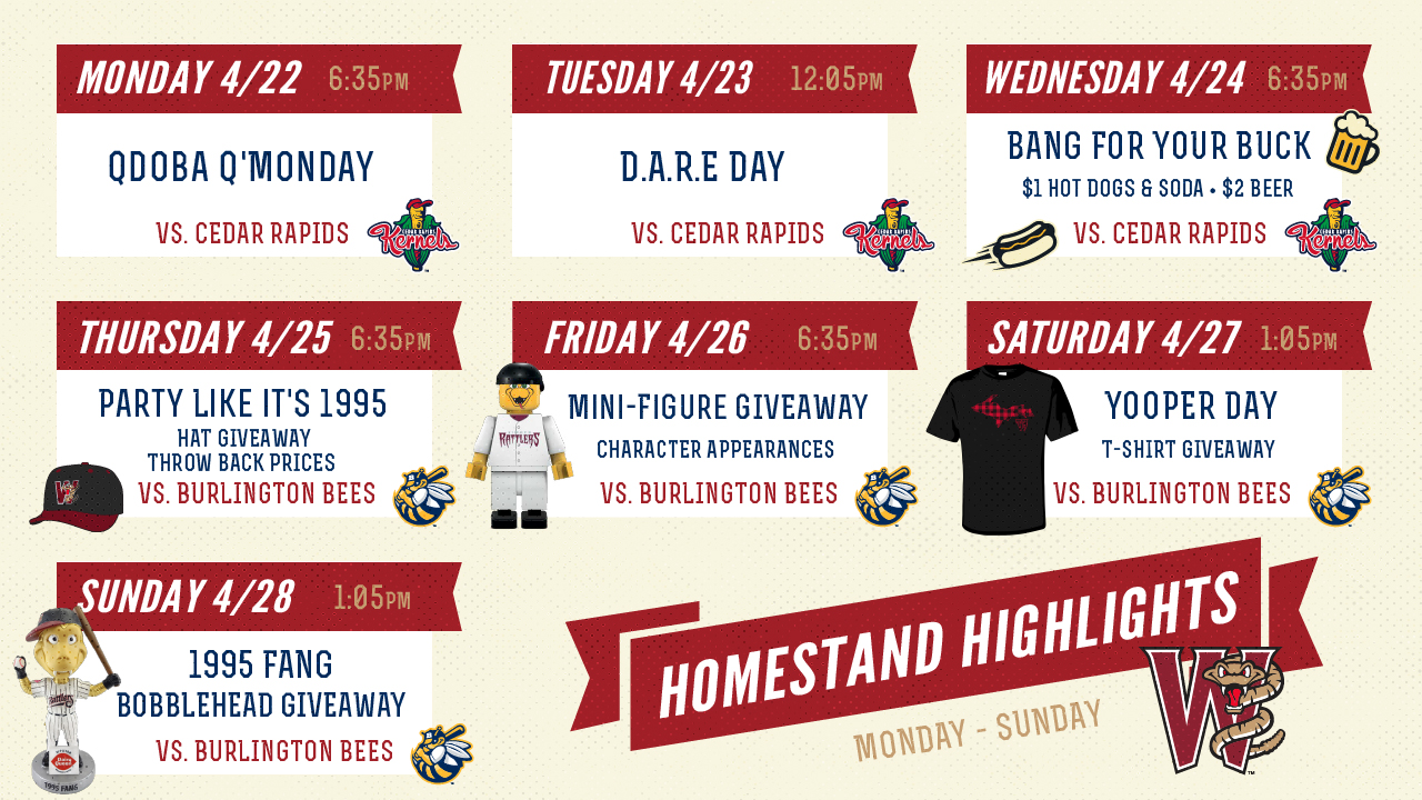a11c4bfadb65a Seven-game homestand starts on Monday
