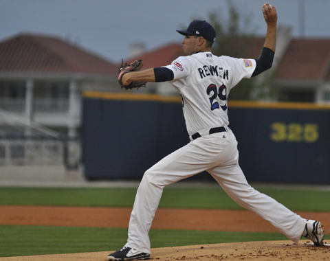 Daniel Renken recorded another quality start, firing six four-hit innings for Pensacola.
