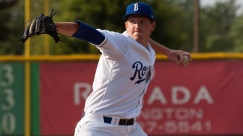 Patrick Conroy was 5-2 with a 4.13 ERA in the Appalachian League last season.