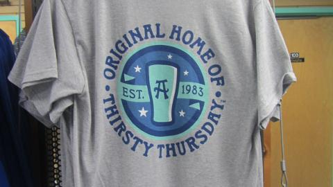 Asheville is the only Minor League club that sells Thirsty Thursday apparel.