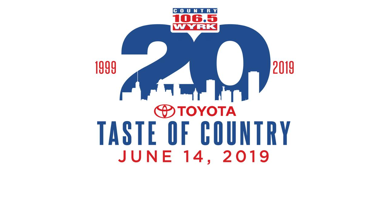 Toyota Taste of Country - Get your tickets now!