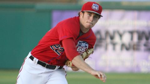 Mark Sappington is 5-0 with a 2.05 ERA in nine starts for the 66ers.