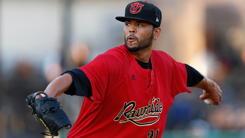 Andrew Barbosa leads active Cal League pitchers with 138 strikeouts.