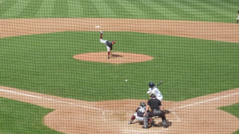 Wisconsin pitcher Jorge Lopez allowed a run and struck out four over five innings on Sunday at Burlington in his final start of 2013.