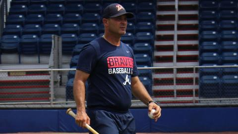 Nestor Perez, who played for the Princeton Rays as a shortstop in 1998, rejoins the league as manager for the Danville Braves.