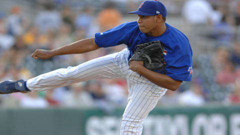 Carlos Marmol pitched well for Licey in the post-season and is pitching for the Dominican Republic in the Caribbean Series.