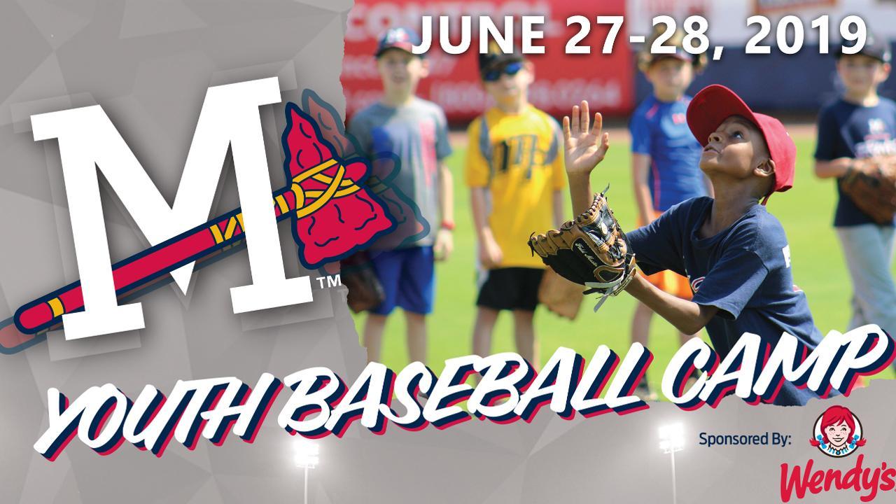Youth Baseball Camp Open for Registration | Mississippi Braves News