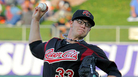Sonny Gray leads the River Cats with 25 strikeouts in 31 innings.