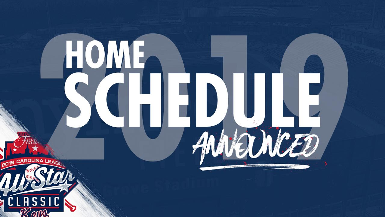 picture relating to Baltimore Orioles Printable Schedule named Keys Announce 2019 Residence Routine Frederick Keys Information