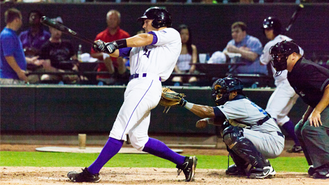 Kevan Smith's homer in the sixth put the Dash ahead for good.