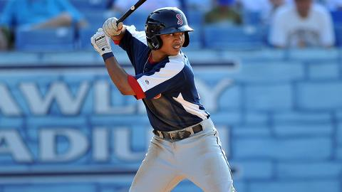 Mookie Betts has 15 homers and 37 stolen bases in 124 Minor League games.