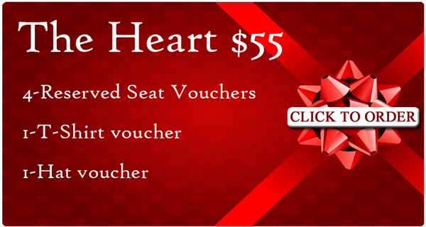 The Heart $55 Special - Columbus Clippers