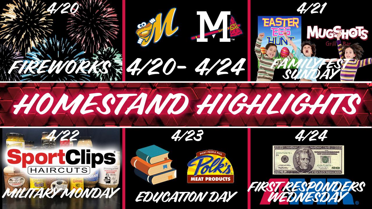M-Braves Homestand Highlights: April 20-24 vs  Montgomery