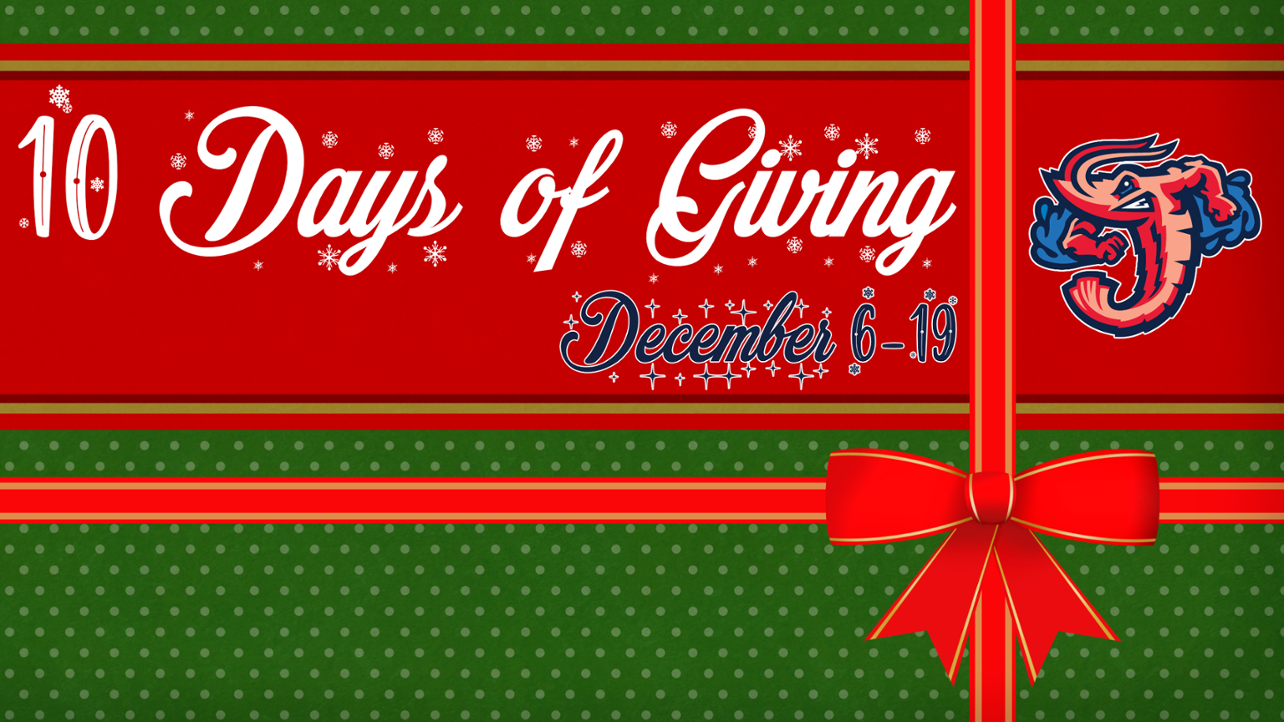 Holiday season brings Jumbo Shrimp's 10 Days of Giving