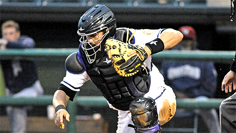 Nevin Ashley is hitting .285 in 42 games with the Louisville Bats.