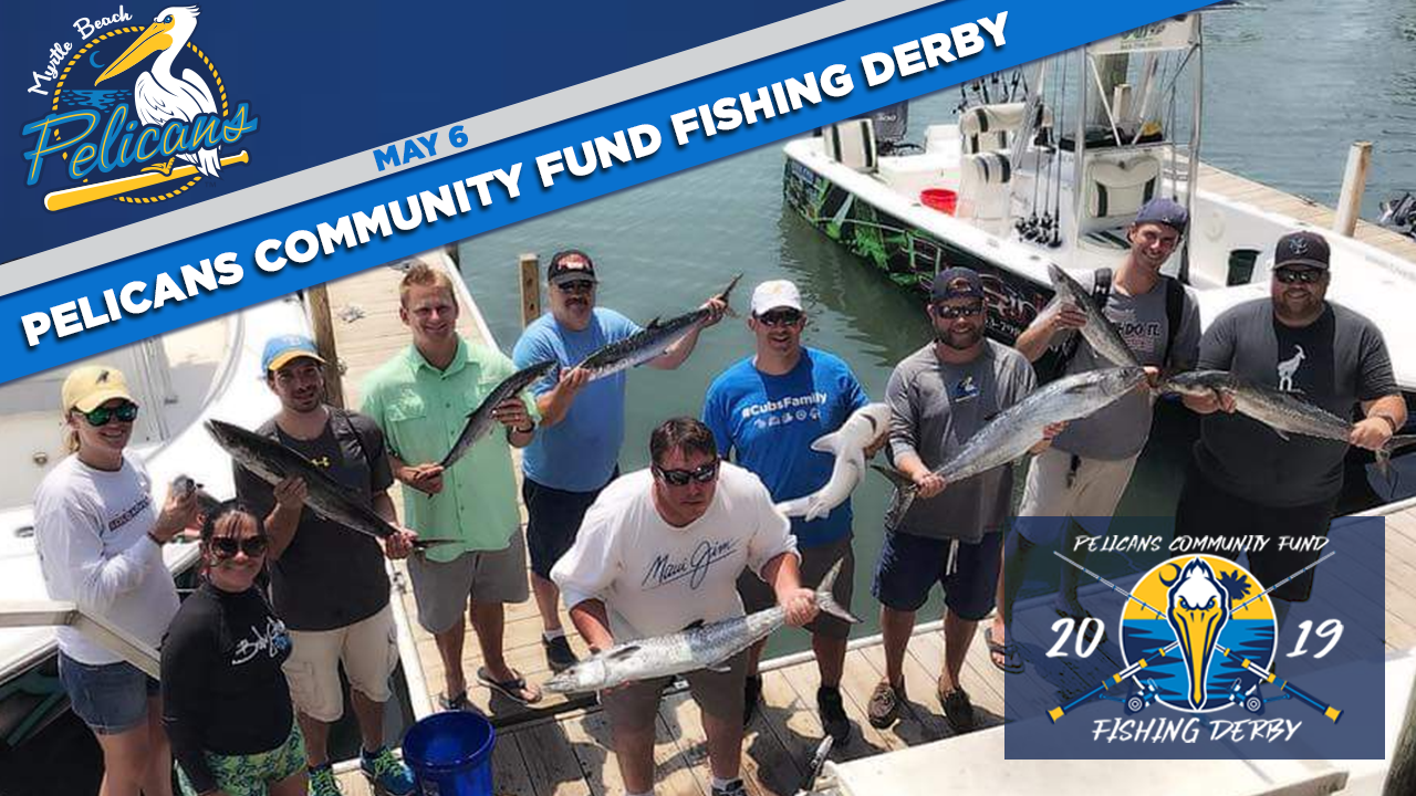 Pelicans to host first-annual charity fishing derby