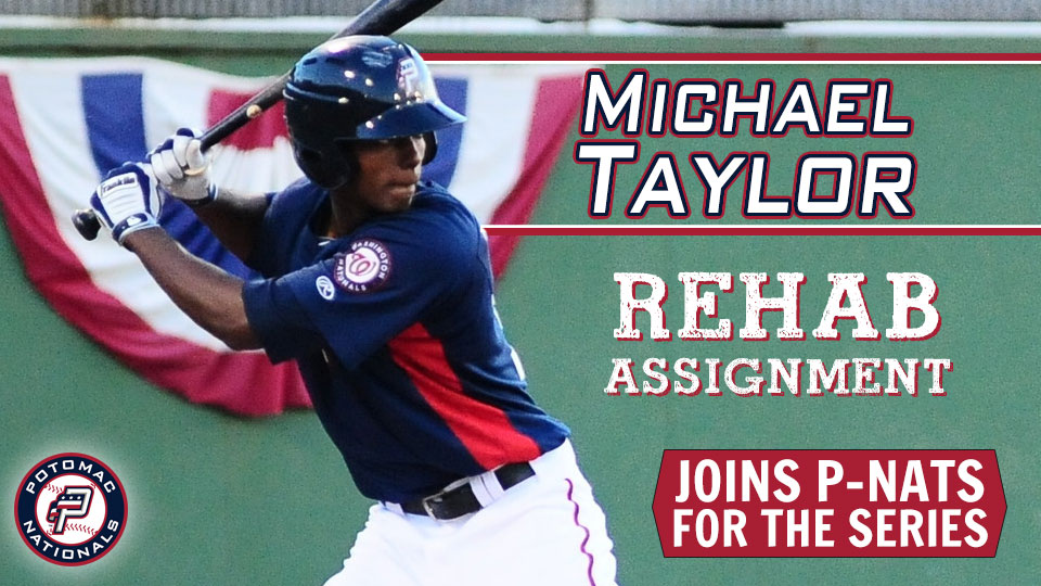 premium selection 84495 9c5a1 Washington Nationals Outfielder Michael Taylor to Start ...