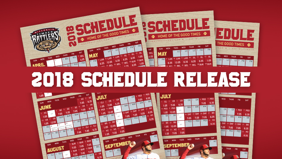 Timber Rattlers Schedule 2019 Timber Rattlers Announce 2018 Schedule | Wisconsin Timber Rattlers