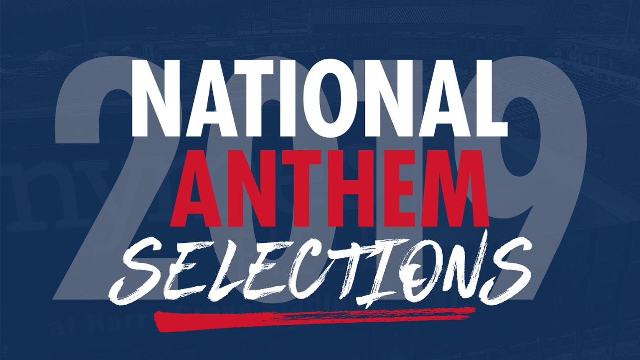 National Anthem Selections