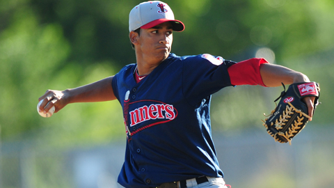 William Cuevas had 72 strikeouts in 77 1/3 innings at Lowell last year.