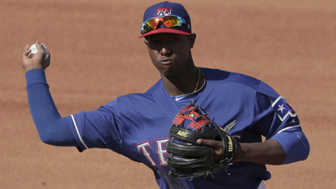Jurickson Profar posted an .820 OPS at Double-A Frisco last year.