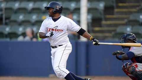 Jason Rogers took the Southern League lead in RBIs Saturday night.