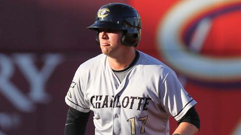Andy Wilkins ranks second in the International League with a .564 slugging percentage for Charlotte.