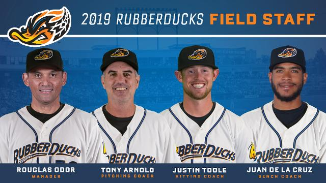 Indians Announce Rubberducks 19 Field Staff Rubberducks