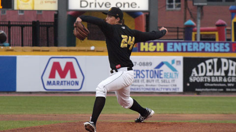 Tyler Glasnow went 9-3 for West Virginia en route to being named the best right-handed pitcher in the South Atlantic League for 2013.